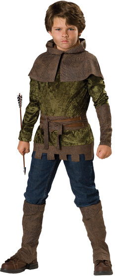 Robin Hood of Nottingham Kids Costume