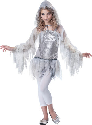Sassy Spirit Ghost Kids Costume