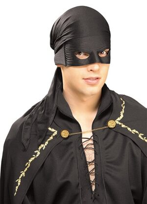 Zorro Bandana with Mask