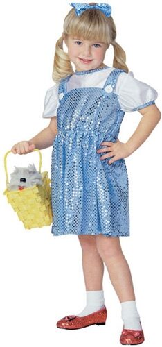 Dorothy Lil Wizard Toddler Costume