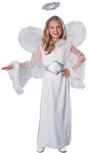 Girls Snow Angel Kids Costume