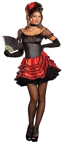 Senorita Bonita Sexy Costume