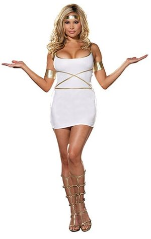 Greek Oh My Goddess Plus Size Costume