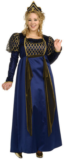Renaissance Queen Plus Size Costume