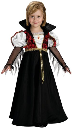 Royal Vampiress Kids Costume