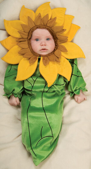 Sweet Sunflower Bunting Baby Costume