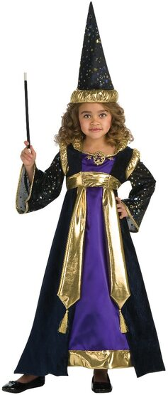 Girls Magical Wizard Kids Costume