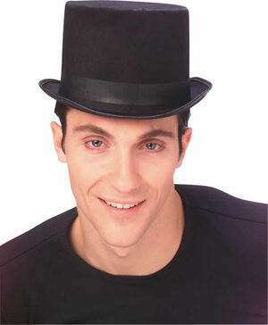 Traditional Felt Top Hat