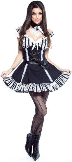 Sexy Clockwork Cutie Steampunk Costume