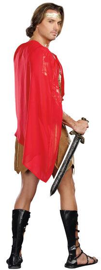 Golden Warrior Caesar Roman Adult Costume