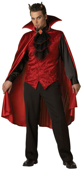 Mens Dashing Devil Adult Costume