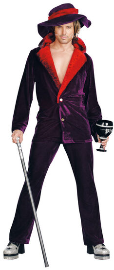 Big Pimpin' Daddy Adult Costume