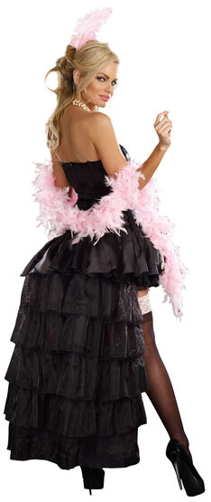 Sexy Naughty in Paris Burlesque Costume