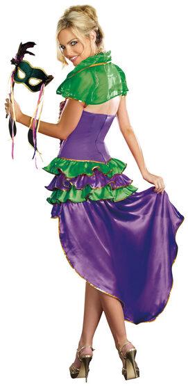 Sexy Mardi Gras Maven Clown Costume