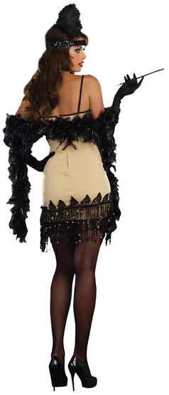 Sexy Jazzy Jezebell 1920s Flapper Costume