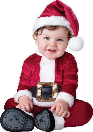 Little St. Nick Santa Holiday Baby Costume