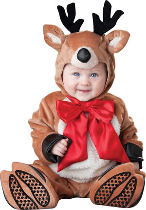 Reindeer Rascal Christmas Baby Costume