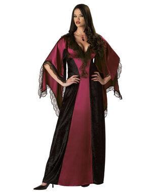 Womens Classic Adult Vampiress Costume