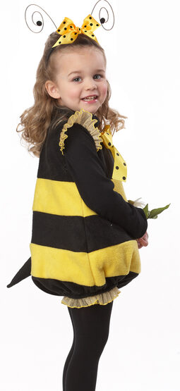 Bizzy Lil' Bumble Bee Kids Costume