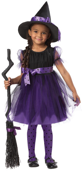 Charmed Cute Witch Kids Costume
