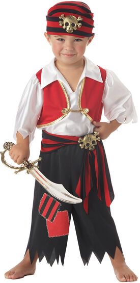 Ahoy Matey Pirate Kids Costume
