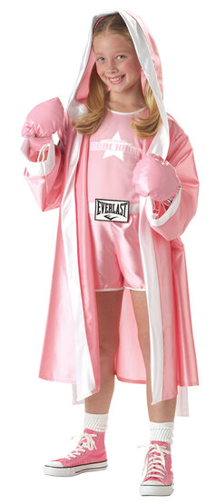 Everlast Boxer Girl Kids Costume