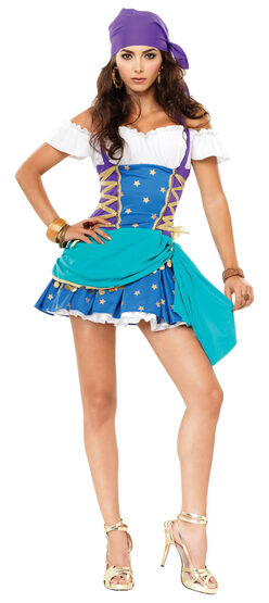 Gypsy Princess Sexy Costume