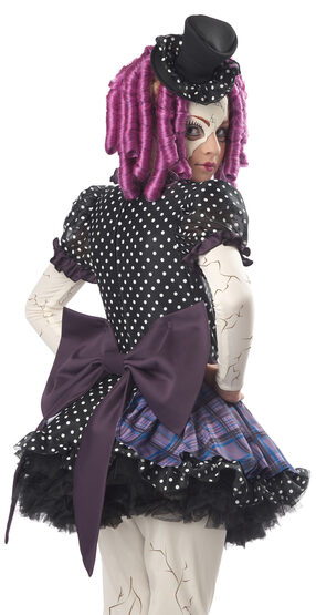 Broken Doll Gothic Kids Costume