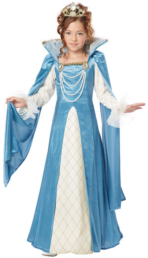 Renaissance Queen Kids Costume