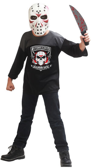 Stone Cold Killer Scary Kids Costume