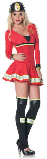 Sexy Hottie Firefighter Costume