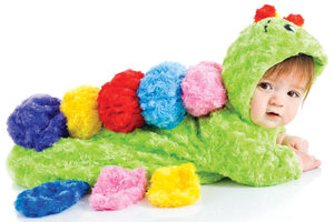 Colorful Caterpillar Bunting Baby Costume