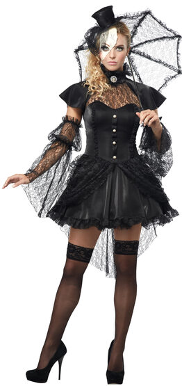 Sexy Victorian Doll Gothic Costume