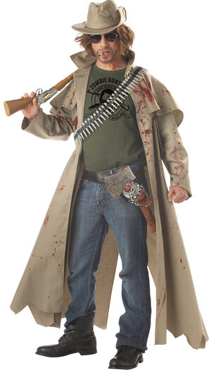 Zack the Zombie Hunter Adult Costume