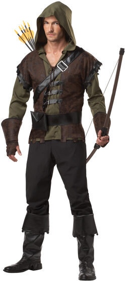 Sherwoods Robin Hood Adult Costume
