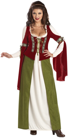 Maid Marian Storybook Adult Costume