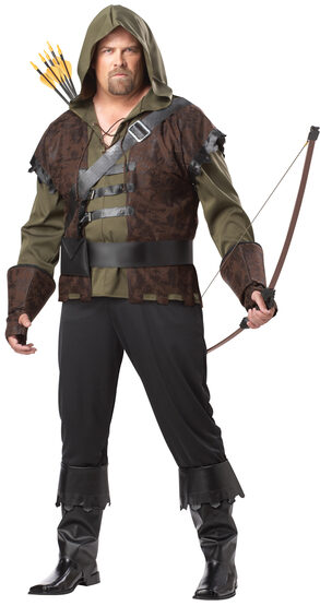 Robin Hood of Nottingham Plus Size Costume