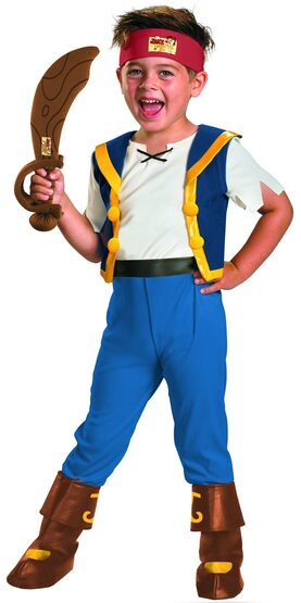 Disney Pirate Jake Kids Costume