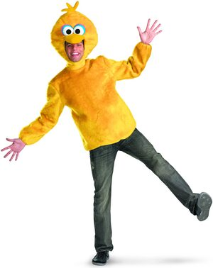 Sesame Street Big Bird Funny Adult Costume