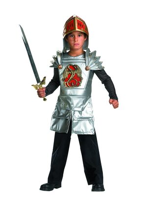 Medieval Dragon Slaying Knight Kids Costume