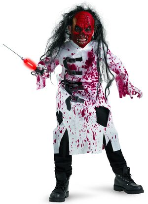 Demented Doctor Scary Kids Costume