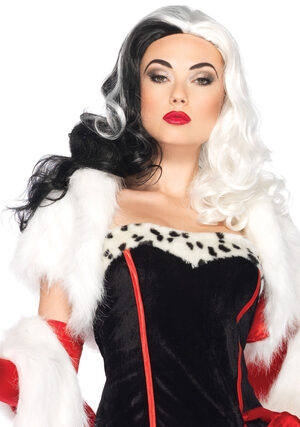 Elegant Cruella Deville Wig