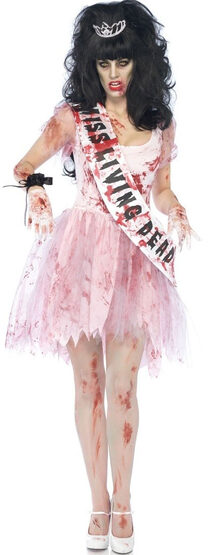 Putrid Prom Queen Zombie Adult Costume