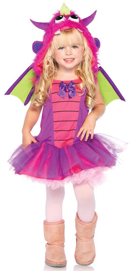 Little Dragon Dress Kids Costume