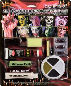 All in One Haunted Makeup Kit