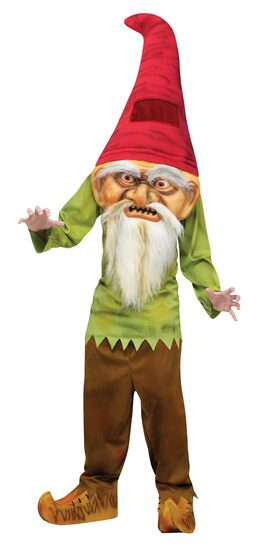Evil Scary Gnome Kids Costume