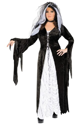 Living Bride of Darkness Plus Size Costume