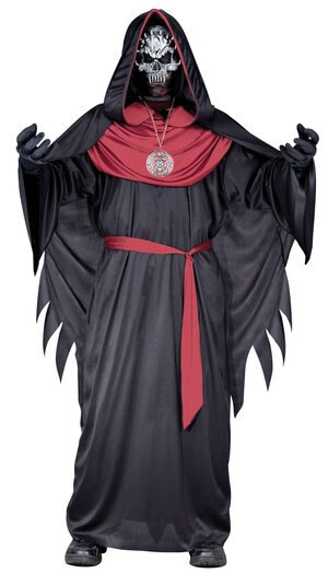 Scary Emperor of Evil Kids Costume