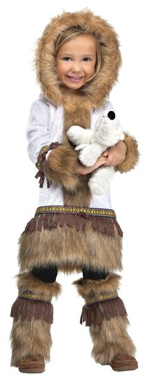 Little Eskimo Kiss Kids Costume