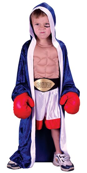 Lil Champ Boxing Kids Costume